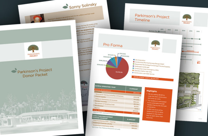 Parkinson's Project Donor Packet